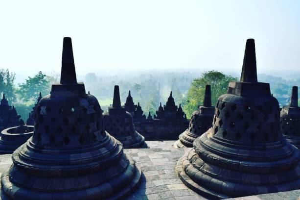 Templo Borobudur, Indonésia