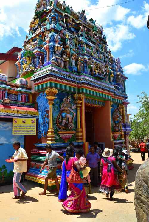 Temple hindou, Trincomalee