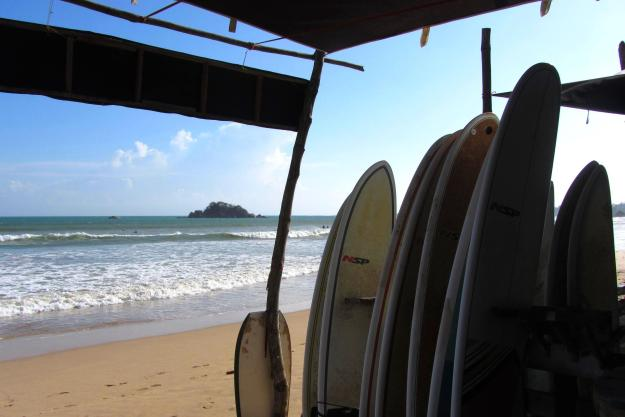 Praia de Weligama, Sri Lanka